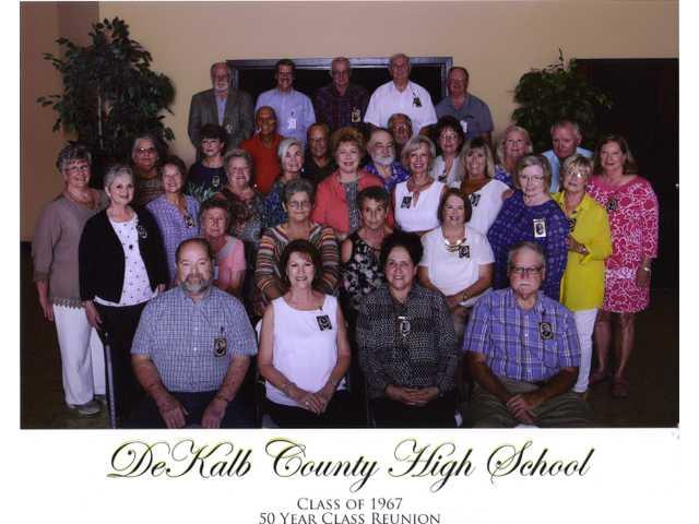 DCHS Class of 1967 gatherd for Golden Anniversary Reunion
