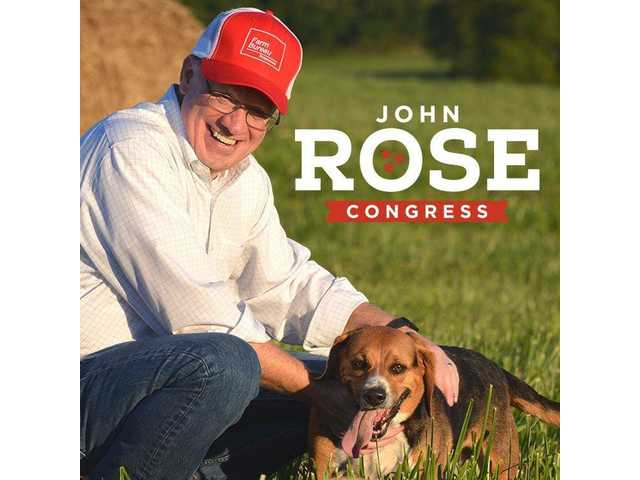 Support for Rose most among Tennessee U.S. House Candidates