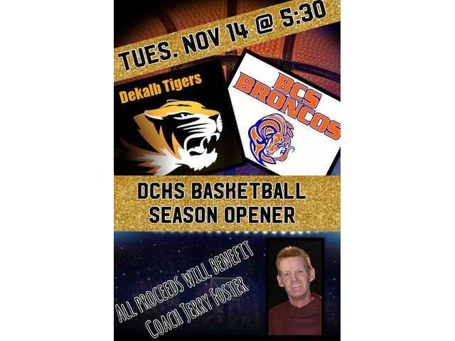 DCHS basketball season-opener game November 14