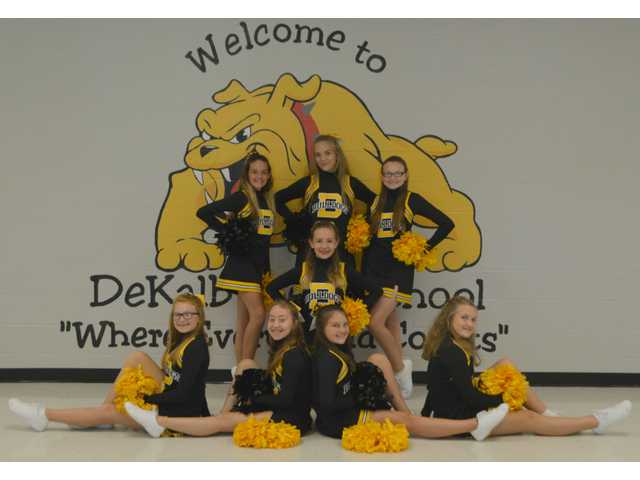DeKalb West cheerleaders excel