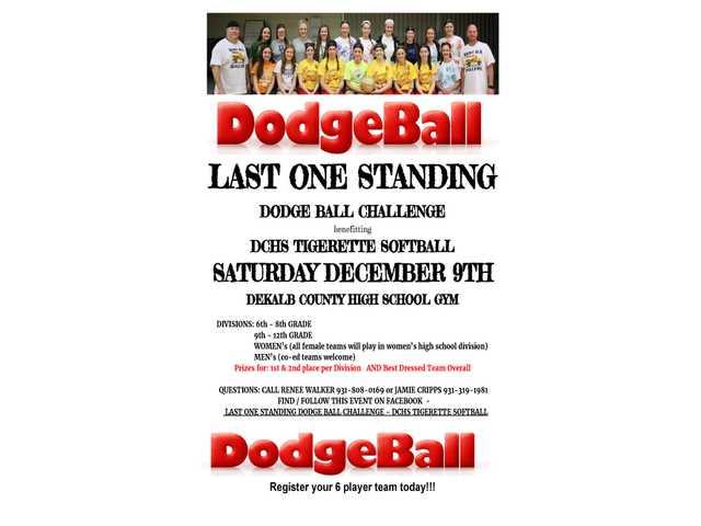 DeKalb DodgeBall Competition December 9