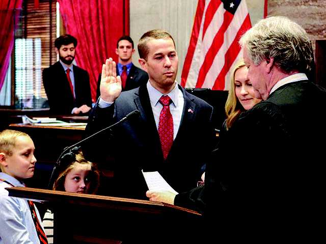 Boyd sworn into 110th General Assembly