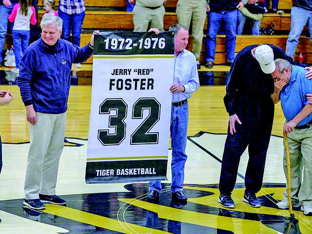 Foster honored for contributions to DCHS basketball