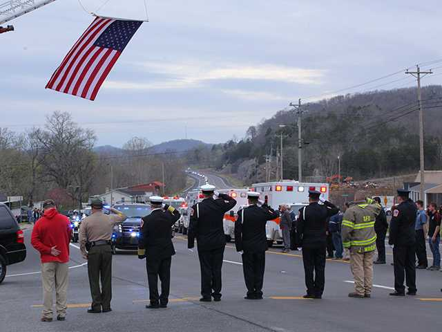 County mourns for fallen officer