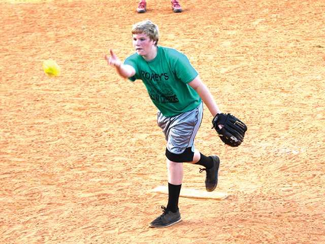 Softball league action heats up