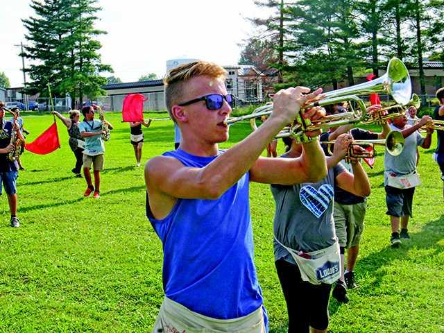 Camp prepares DCHS squad for season