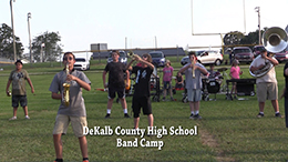 VIDEO - DeKalb High Band Camp