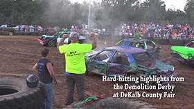 VIDEO - Demolition Derby at the Fair