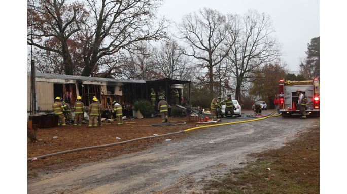 Three dead in mobile home fire