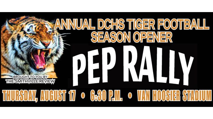 Season opening pep rally set for August 18