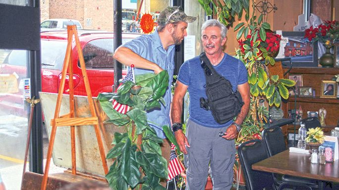 Vets and video: Dailey and Vincent film music video with help of local heroes