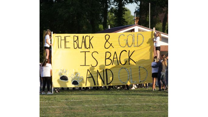 The Black & Gold is back! (and old)