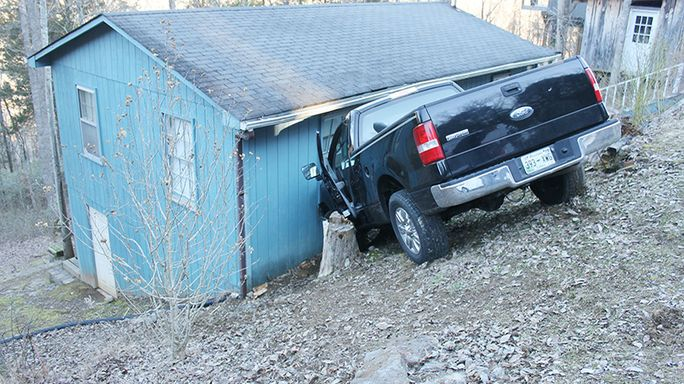 House crash results in airlift