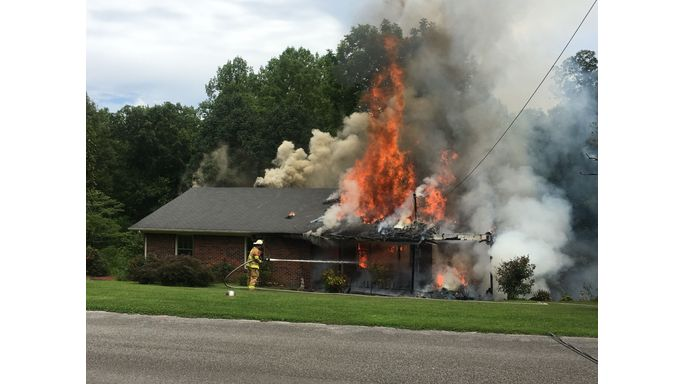 Fire destroys Rolling Acres home