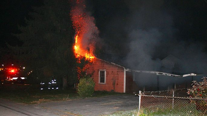 Fire damages vacant home