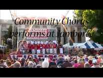 Community Chorus performs at Jamboree
