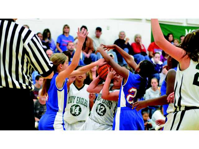 Lady Pioneers too much for Lady Eagles