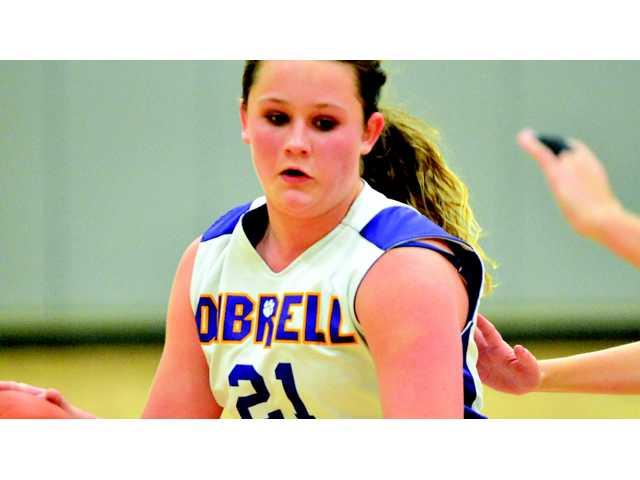 Dibrell girls advance against Lady Eagles