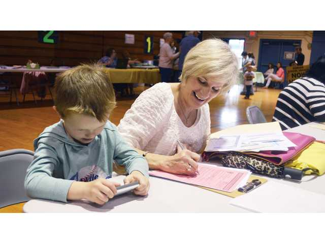 Youngsters excited about kindergarten registration