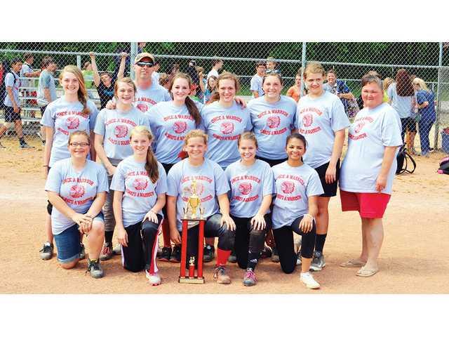 Centertown sweeps softball titles