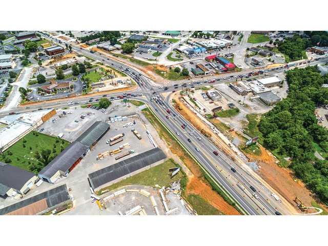 Murfreesboro road work on schedule
