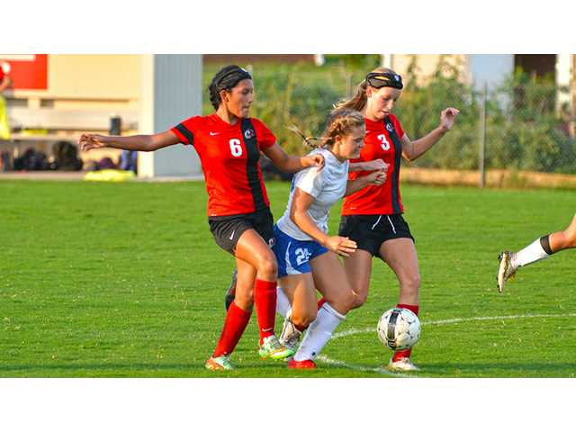 Lady Pioneers get soccer season off to fast start