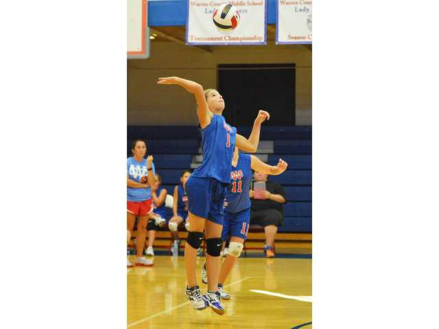 WCMS volleyball falls in home opener