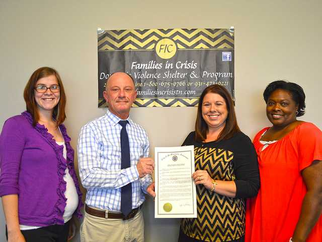Families in Crisis receives grant to support domestic violence victims