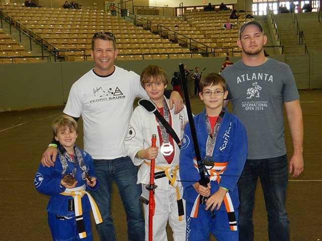Local jiu jitsu students bring home awards