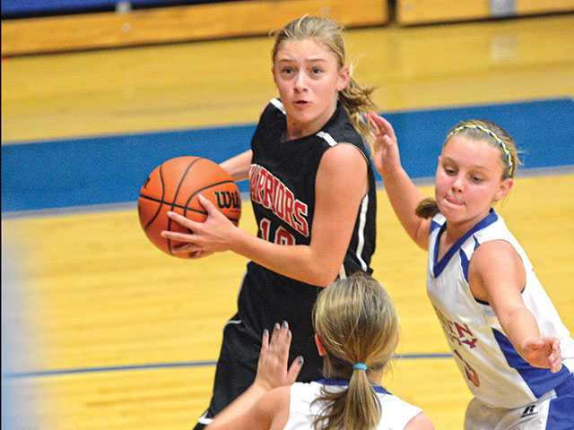 Lady Warriors turn up the heat