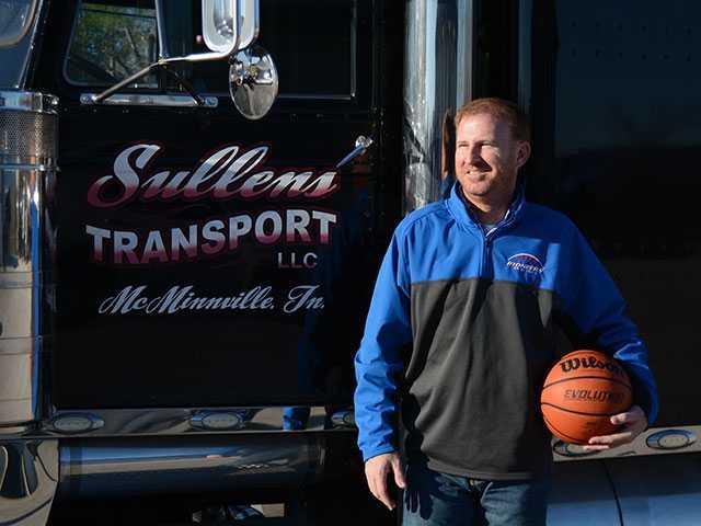 Sullen keeps on truckin'