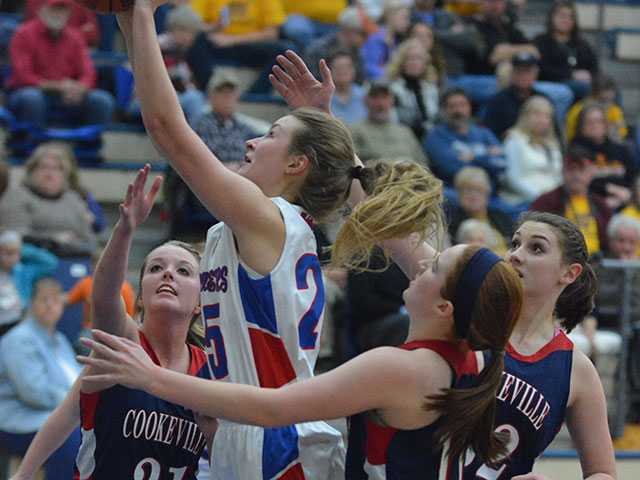 Lady Pioneers fall just short, 48-40