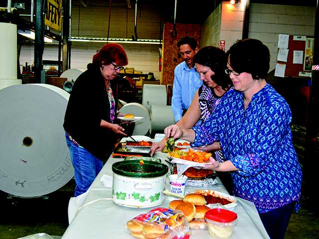 Standard employees share favorite recipes