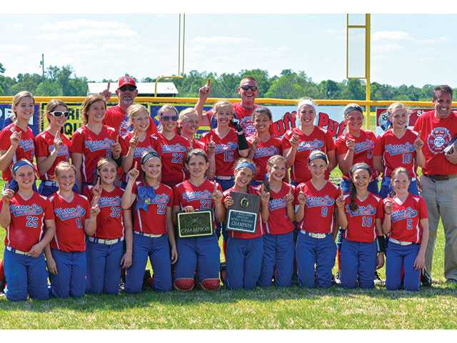 WCMS Lady Pioneers win championship