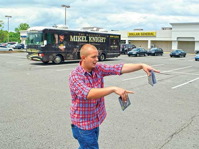 Parking lot CD sales create concern