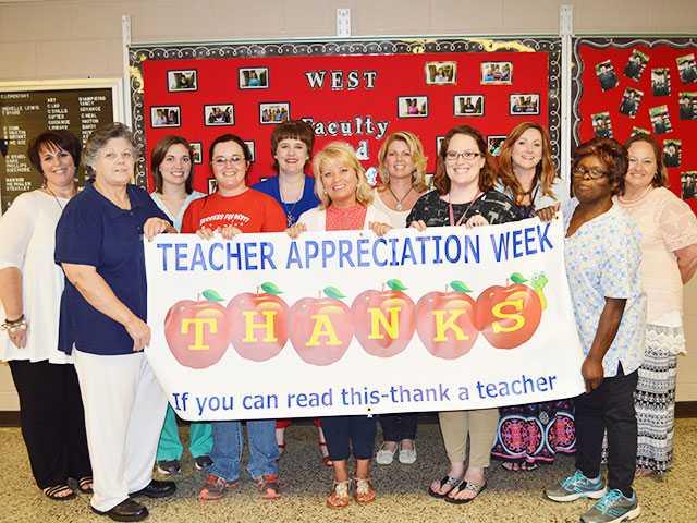 Teachers are appreciated