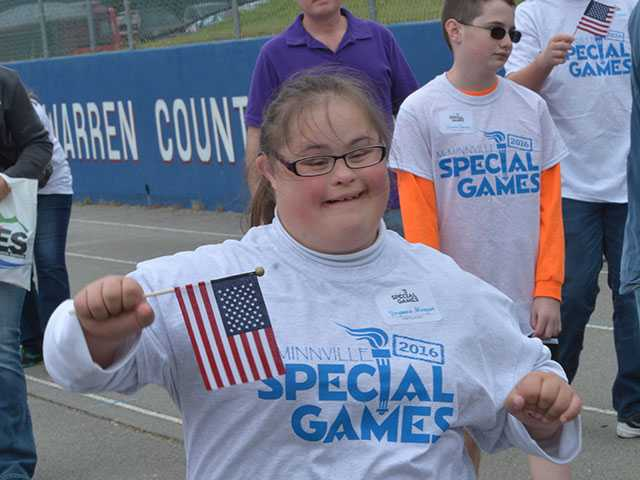 Special Games brings out amazing athletes