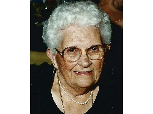 Mary Ruth Parsley Dunlap, 102
