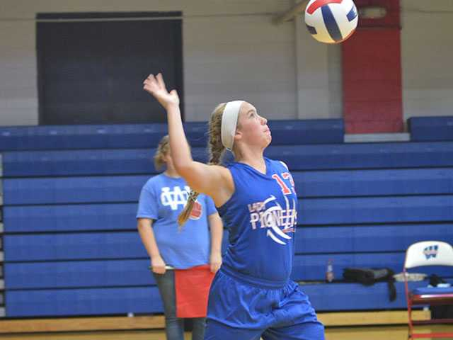 WCMS volleyball downs Coffee