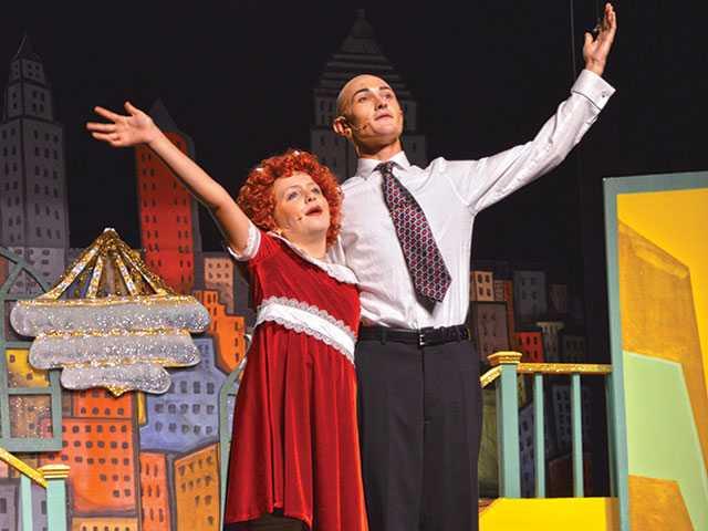 Annie Jr. performances pack Park Theater