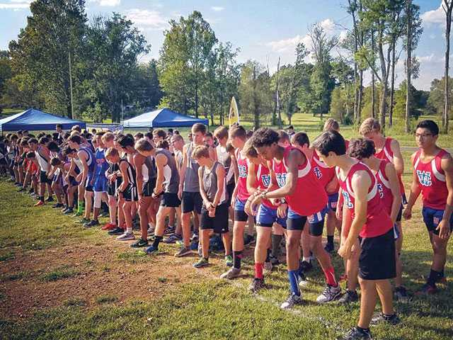 WCHS cross country finishes first in meet