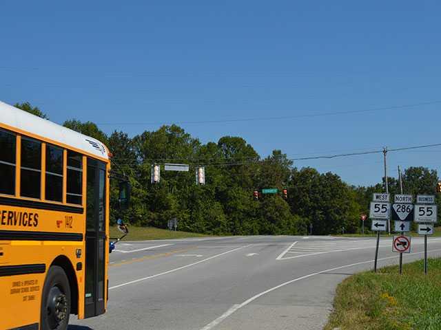 Officials consider adding turn signal