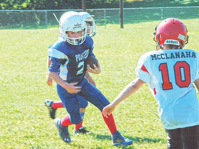 Youth football provides excitement