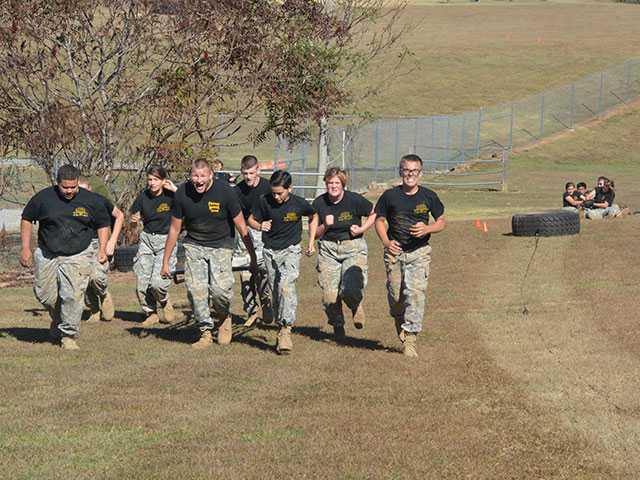 JROTC Raiders prepare for event in Kentucky