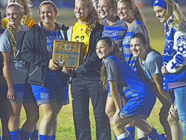 Lady Pioneers fall in district championship game