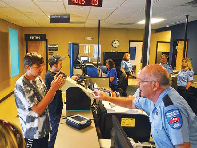 Driver Testing Center reopens