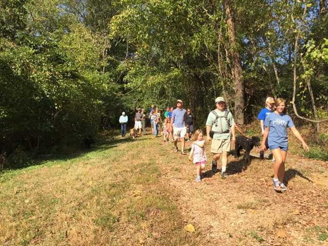 Ceremony heralds opening of Trail
