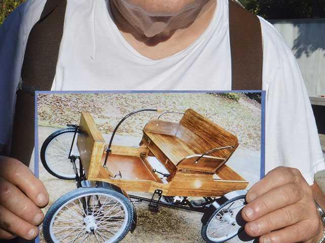Brubaker raffling cart to help house a veteran