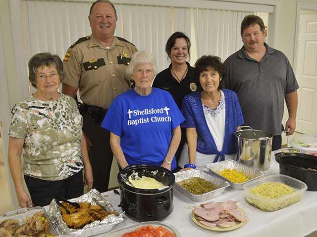 Shellsford Baptist Church holds thank you dinner
