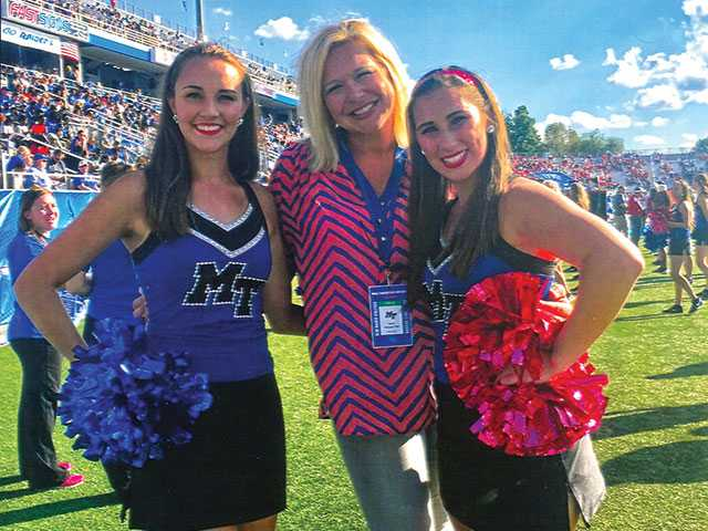Locals well represented on MTSU dance squad
